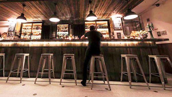 Molly, a prohibition bar hidden down a laneway. Supplied