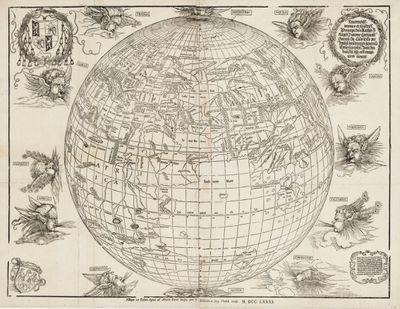 Johannes Stabius map, 1515