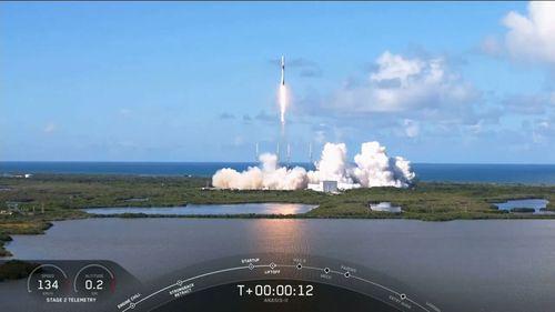 Space X ANASIS-II launch