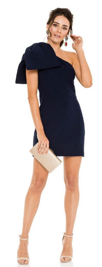 "<p><a href=""https://herwardrobe.com.au/collections/wedding/products/rebecca-vallance-hamptons-mini-bow-dress"">REBECCA VALLANCE Hamptons Mini Bow Dress</a></p> <p>Rental $139</p> <p>Retail $649</p>"