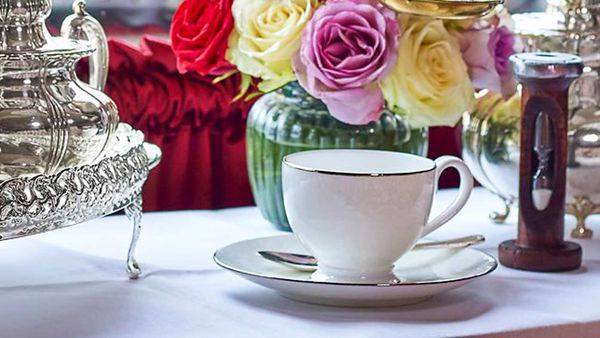 World's most expensive tea at The Rubens at The Palace.