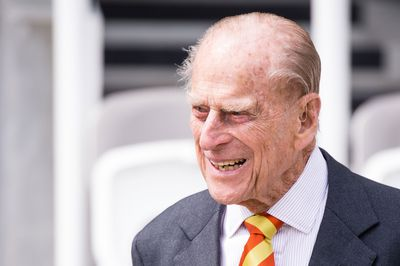 <strong></strong>Prince Philip, May 2017