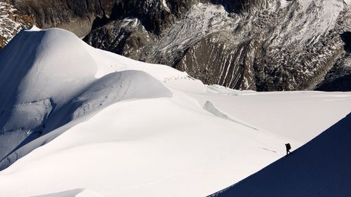 This winter has seen heavy snow create dangerous conditions and disrupt transport across the Alps. (AAP)