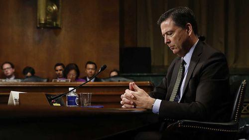 Sacked FBI Director James Comey. (AAP)