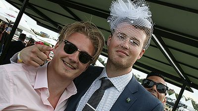 Who said fascinators were only for the ladies?