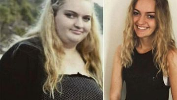 'Don't let it get you down': How this teen dropped half her body weight