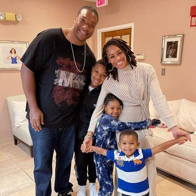 Monique Samuels, husband Chris Samuels, Real Housewives of Potomac