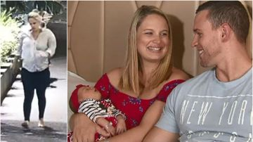 Husband catches newborn from wife after unexpected delivery