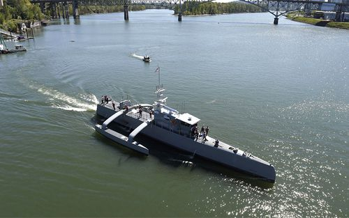 The Sea Hunter is an entirely new class of unmanned ocean-going vessel.