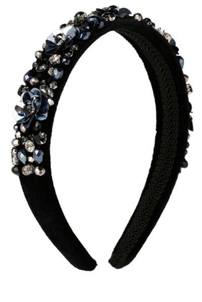 "Miss Shop multi stone headband, $19.95 at <a href=""https://www.myer.com.au/shop/mystore/ms-accessories/multi-stones-headband-499865230-499845160"" target=""_blank"" draggable=""false"">Myer</a><br>"