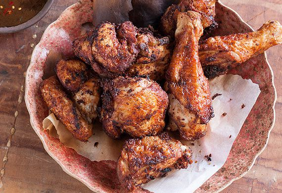 Leanne Kitchen and Antony Suvalko's fried nonya chicken