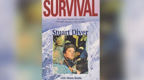 Simon Bouda worked with Diver to write his biography 'Survival: The inspirational story of the Thredbo disaster's sole survivor'.