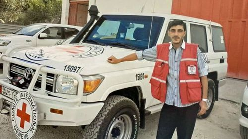 Nabil Bakdounes was delivering medical supplies with nurse Louisa Akavi and fellow driver Alaa Rajab in north-western Syria when armed men stopped their vehicles on  October 13, 2013.
