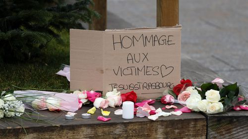 Tributes have been left for the victims.