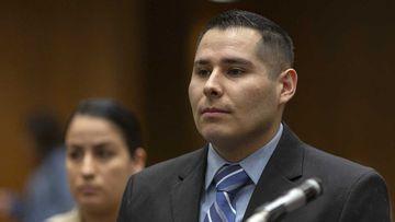 LA cop who groped dead woman on bodycam pleads not guilty