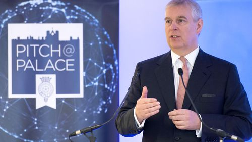 Prince Andrew Pitch@Palace 2