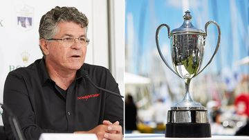 Comanche skipper Jim Cooney is expected to shoulder additional responsibility at the start of the Sydney to Hobart today.