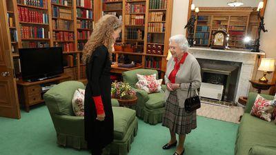 A peek inside the Queen's summer home