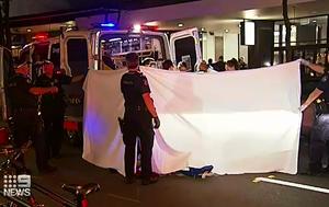 Teen stabbed in chest in Australia Day brawl