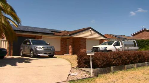 The Raby property at which the one-year-old tragically drowned. (Supplied)