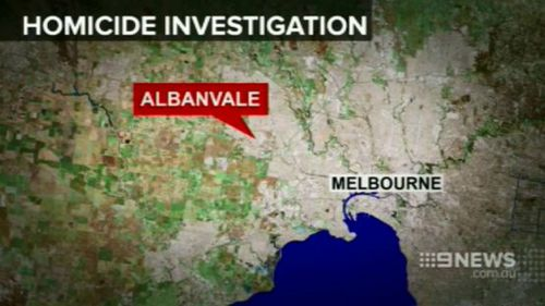 Police were called to the home in Albanvale just after 5pm today. (9NEWS)