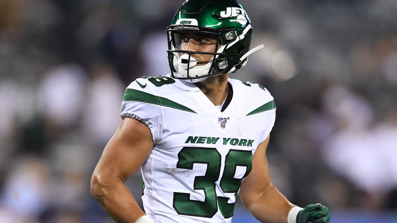 Valentine Holmes during his pre-season game against New York Giants