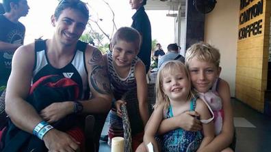 Leah husband and children