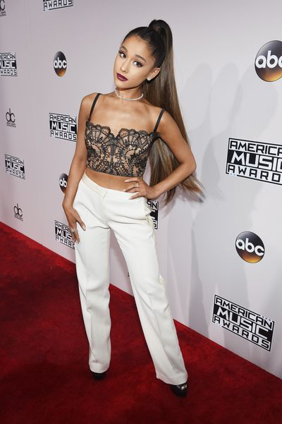 <p>Failed to chart&nbsp;</p> <p>Ariana Grande <br> That ponytail is weighing poor Ariana down. The corset top is on trend but loses impact with the prim trousers. Basically, Madonna did this look way better in 1990.</p>