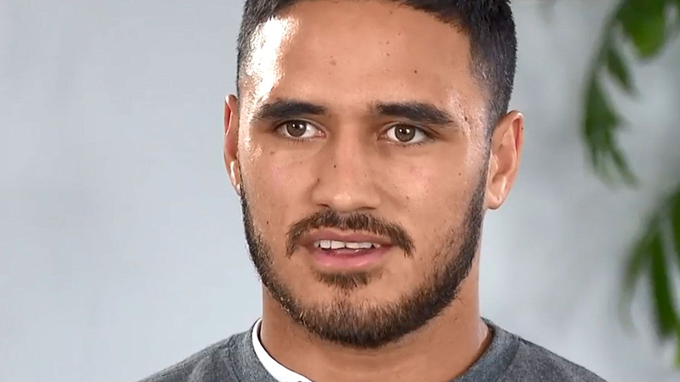 'I was shaking': Valentine Holmes' emotional reaction after realising NFL dream