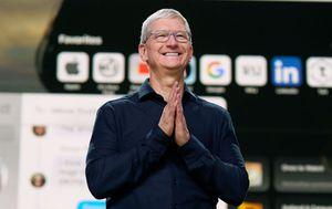 Apple boss Tim Cook is now a billionaire after tech giant's shares jump