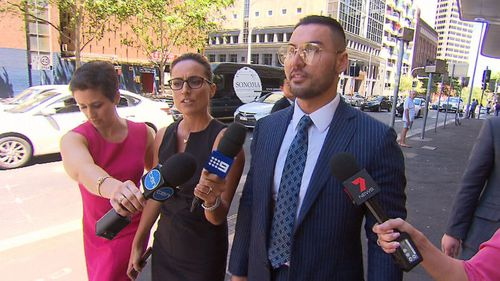 Salim Mehajer leaving court today. (9NEWS)