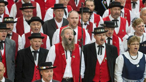Yodelling is a beloved national pastime in Switzerland.
