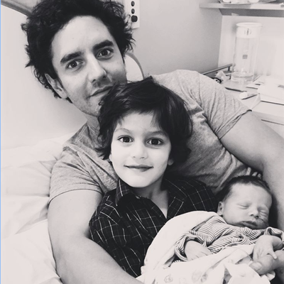 Father's Day 2020: Asher Keddie and Vincent Fantauzzo
