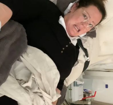 Melissa McCarthy wound up in hospital after an unfortunate spider bite.