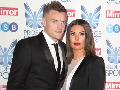 Jamie Vardy and Rebekah Vardy