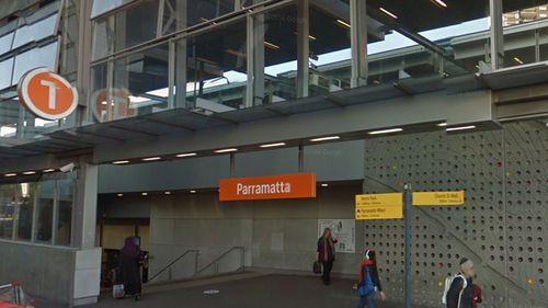 Parramatta Train Station