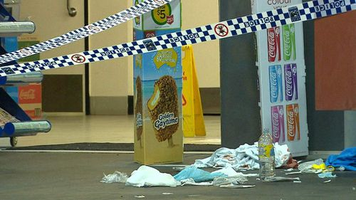 Three crime scenes have been established in Macgregor. (9NEWS)