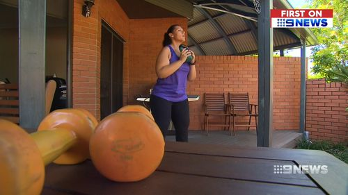 For her, the key motivation was to be healthy enough to see her daughter grow up, get married and have children of her own. (9NEWS)