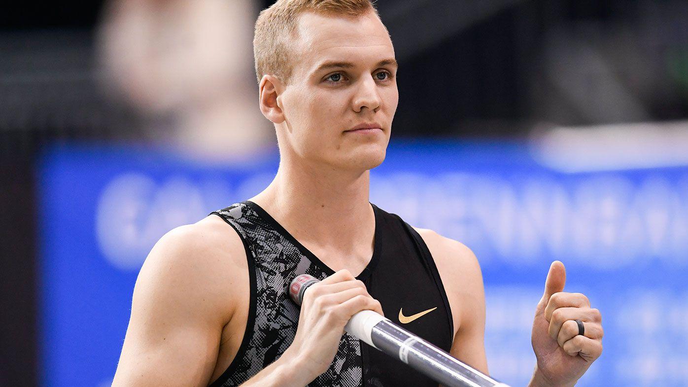 US pole vaulter Sam Kendricks.