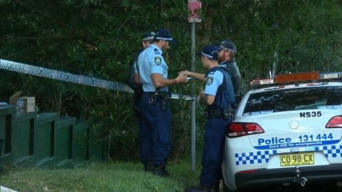 Police were called to the home on Greendale Street on Tuesday. Picture: 9NEWS