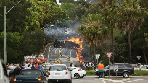 Truckie avoids jail over fiery Sydney crash which killed two people