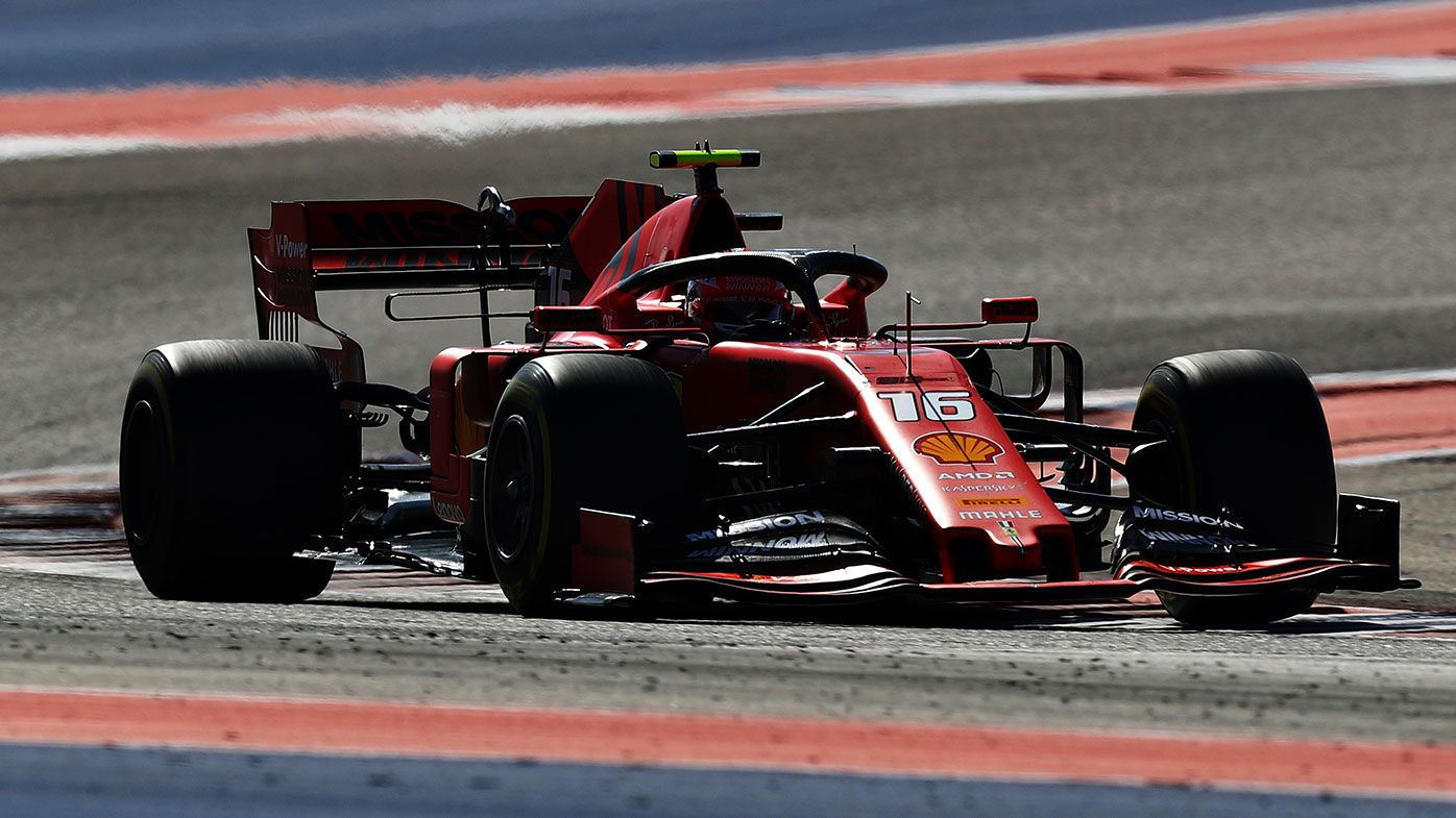 Charles Leclerc finished fourth at the US Grand Prix.