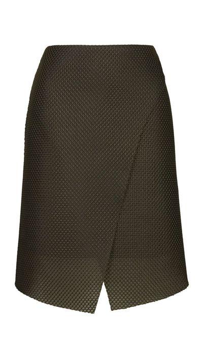 "<a href=""http://www.topshop.com/en/tsuk/product/clothing-427/skirts-449/airtex-wrap-skirt-4126952?bi=1&amp;ps=200"">Airtex Wrap Skirt, approx. $95, Topshop</a>"