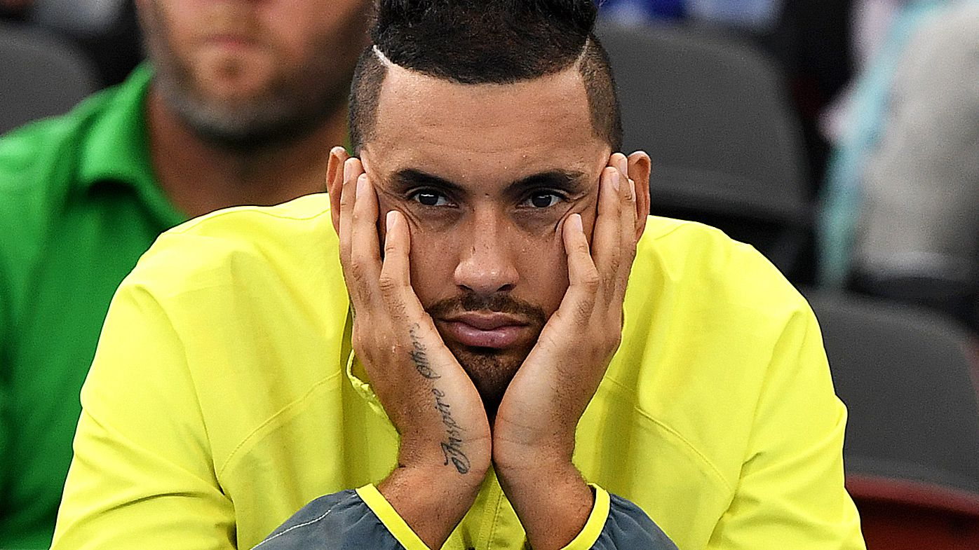 Tennis: Nick Kyrgios withdraws from Delray Beach Open
