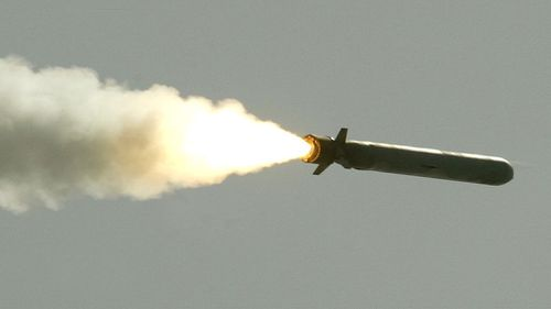 A Tomahawk missile. (Getty Images)