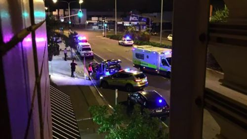 Police were called to the Townsville service station. (9NEWS)