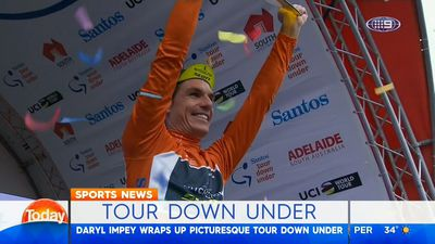 Cycling: Daryl Impey wins Tour Down Under, Caleb Ewan learns lessons