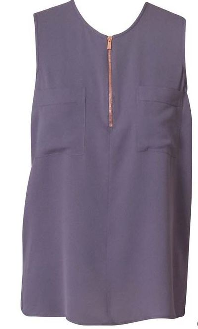 "<a href=""http://www.gingerandsmart.com/secret-vice-sleeveless-blouse-9340057155088.html"" target=""_blank"">Ginger & Smart</a>, sleeveless silk blouse, $299 <br>"