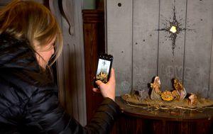 Banksy takes politically charged Nativity scene to Bethlehem