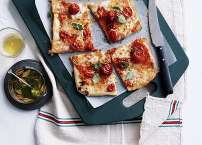 "<a href=""http://kitchen.nine.com.au/2016/05/17/11/45/salami-and-mozzarella-pizza-a-taglio"" target=""_top"">Salami and mozzarella pizza a taglio<br /> </a>"